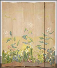 folding screen by nora frances elisabeth collyer