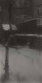 from the window of my atelier by josef sudek