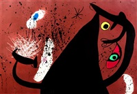 la frappeuse de silex by joan miró