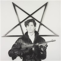 self-portrait by robert mapplethorpe