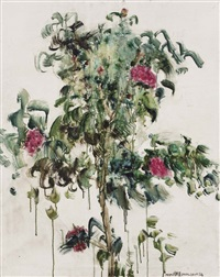 花 flowers by zhou chunya