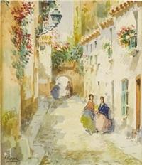 untitled street scene by josé arpa perea