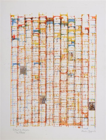 portrait of hansor the process i by brion gysin