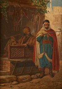 une lame de damas by jan baptist huysmans