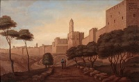 david's citadel, jerusalem by yacov gabay