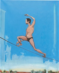 tightrope walker by verne dawson