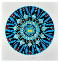 psalm print: ad te, domine, levavi by damien hirst
