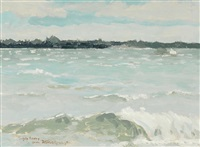 untitled (st. lawrence) by frederic remington