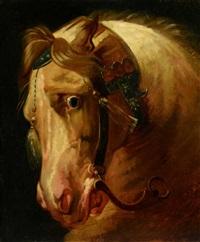tête de cheval (after antoine-jean gros) by théodore géricault