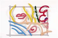 卧室裸体涂鸦(3-d) bedroom nude doodle (3-d) by tom wesselmann