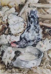 chioccia e pulcini by aldo raimondi
