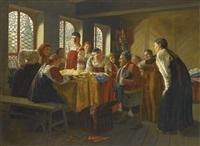 the joker by mikhail petrovich (baron) klodt von jurgensburg