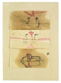 eruption in der lagune (eruption in the lagune) (in 3 parts) by joseph beuys