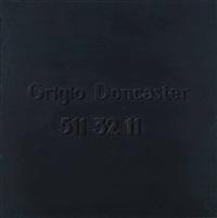 grigio doncaster 511 32 11 by alighiero boetti