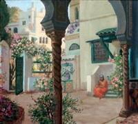 la cour fleurie by pierre-christian ganne