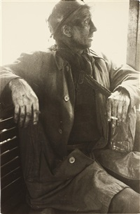 ben james, welsh miner by robert frank