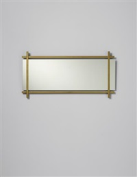 rare and early mirror by ettore sottsass