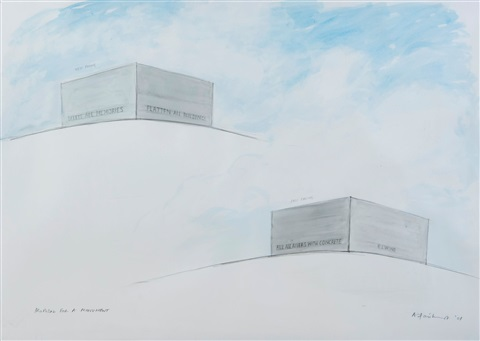 proposal for a monument by angus fairhurst
