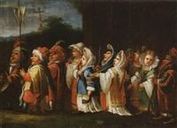 la processione dei nani by enrico albricci