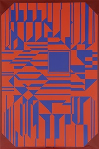 samos by victor vasarely