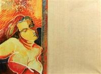 portrait de femme et poème by serge gainsbourg