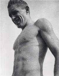 torse d'homme, plongeur by pierre boucher