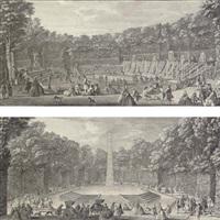le salle de bal (+ l'obélisque; pair) by jacques rigaud