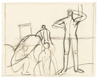 four bathers by keith vaughan
