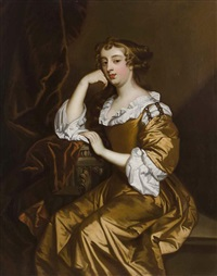 elizabeth wriothsley, countess of northhampton and later countess of montague by sir peter lely