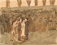 conversation - famille wansart by edgard tytgat