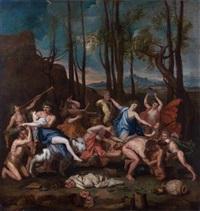 le triomphe de pan by nicolas poussin