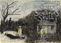 the spell of the sorcerer's skull by edward gorey
