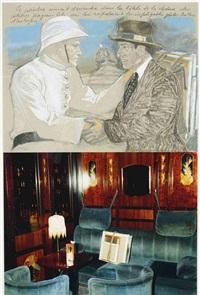 le peintre aimant descendre dans les hôtels... by jean le gac