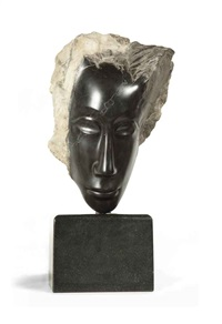 head of a woman by jules vermeire