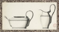 designs for a tea pot and a jug by jean guillaume moitte