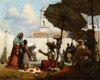 orange vendor by charles percy austin