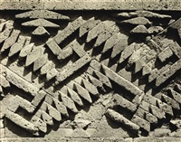 pre-hispanic ruins, mitla, oaxaca by edward weston