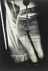 from the series tokyo, meshed world by daido moriyama