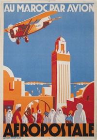 au maroc par avion aéropostale by jean jacquelin