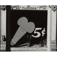 ice cream sign by peter sekaer