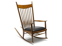rocking chair by sam maloof