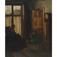 a cottage interior by david alison