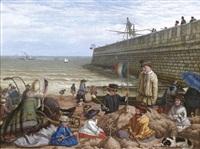 les jeux de plage sur une côte anglaise by frederick ifold