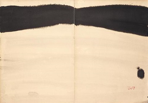 untitled (diptych) by t'ang haywen