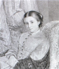 portrait of a lady by isabel oakley naftel