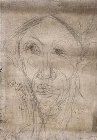 portrait d'homme by chaïm soutine