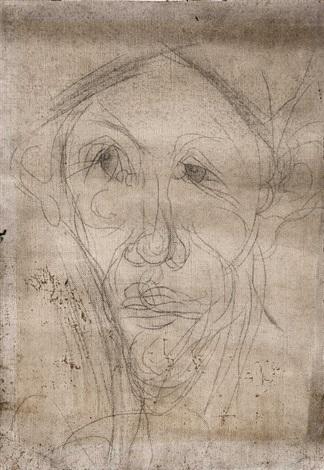 portrait dhomme by chaïm soutine