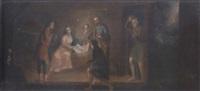 the adoration of the shepherds by matías arteaga y alfaro