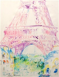 paris by leroy neiman