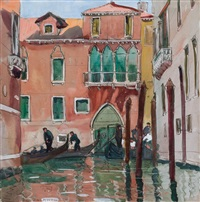 venice, january by jane peterson